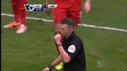 """Ливърпул развенча Арсенал с безмилостен откос насред """"Анфийлд"""""""