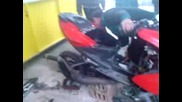 Monster aerox bobo 250cc 2t turbo 4