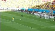 Бразилия мина през ада, но оцеля! 28.06.2014 Бразилия - Чили 1:1 (3:2) (световно първенство)