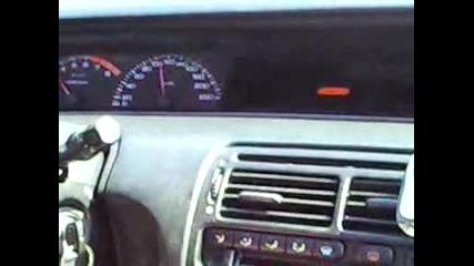 Honda Prelude 1995 2.2 V - Tec 210hp Uskorenie ot 0 - 230 km