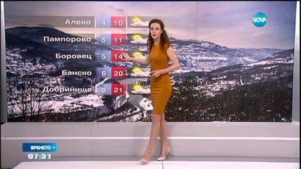 Прогноза за времето (27.04.2015 - сутрешна)