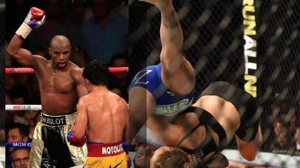 Ronda Rousey Smacks Down Floyd Mayweather