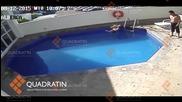 Мъж удави безскрупулно доведената си 3-годишна дъщеря в басейна на хотел
