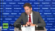 Luxembourg: 'No agreement in sight' for Greek bailout extension, says Dijsselbloem