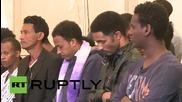 Malta: Funeral held for drowned Mediterranean migrants
