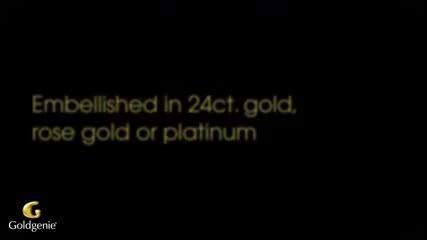 Htc-24 карата злато Шедьовър