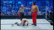 Sheamus vs The Great Khali - Wwe Smackdown with Jinder Mahal