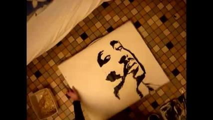 Н Е В Е Р О Я Т Н О Бързо Рисуване на 2pac !!