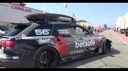 1000hp Audi Rs6 Dtm - Start, Revs & Accelerations