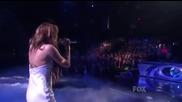 Дори и болна пее невероятно! Miley Cyrus - When I Look At You