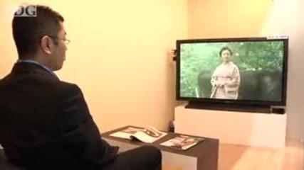 Японски интерактивен телевизор от бъдещето