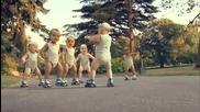 Рекламата на евиан с бебетата