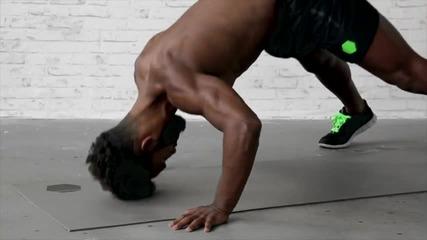Рамена преса от стойка на ръце (handstand push up)