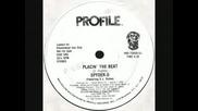 Spyder D placin The Beat 1984