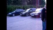 Драг - Голф 2 vs. Голф 3 и Audi