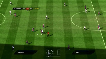 Manchester United Vs Barcelona - Fifa 11 - elvade