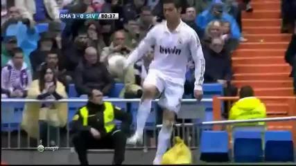 Роналдо се прави на добър