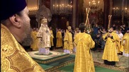 Russia: Epiphany celebrated at Moscow's Christ the Saviour Cathedral