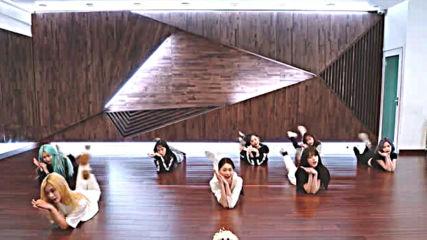 Weki Meki - Dazzle Dazzle dance practice mirrored