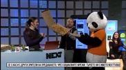 foodpanda представя: Панда доставя пици
