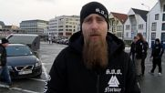 """Norway: Anti-refugee Soldiers of Odin patrol streets of Stavanger """"to help the police"""""""