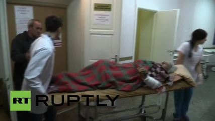 Ukraine: Donetsk shelling casualties condemn Kiev's actions from hospital beds