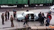 Бригадата пристигна за работа в пълен състав - 17 човека в една Волга