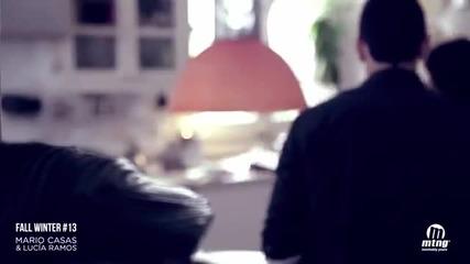 """Марио Касас и Лусия Рамос в рекламата за """"мустанг: Есен 2013"""""""
