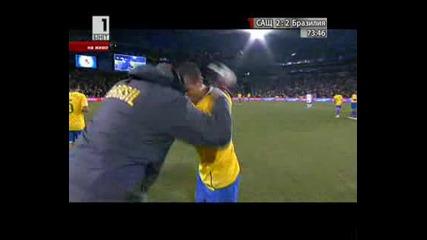 Сащ 2 - 2 Бразилия гол на Фабиано