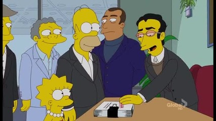 Семейство Симпсън - Сезон 23 Епизод 6 - Бг Субтитри