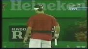 Australian open 2004 : Федерер - Набандиан