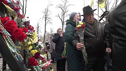 Ukraine: Tributes paid to Kiev's 'Heavenly Hundred' five years after Maidan escalation