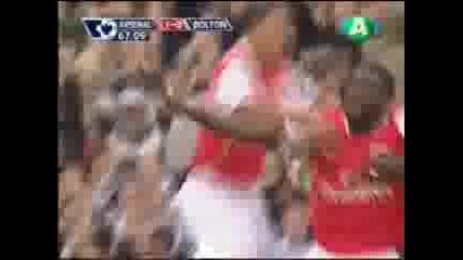 Арсенал - Болтън 1 - 0