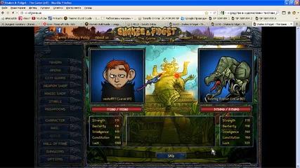 Shakes & Fidget Dungeon 5 Room 3 Roaring Raptor
