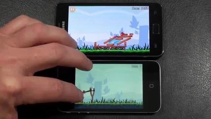 Apple iphone 4 vs Samsung Galaxy S Ii