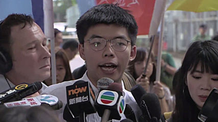 Hong Kong: Pro-democracy activist Joshua Wong released from prison in wake of mass protests