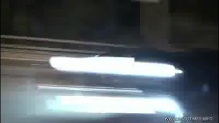 |~| Улична гонка на нощни светлини - |~| Nissan Gtr vs Corvette Zr1 |~|