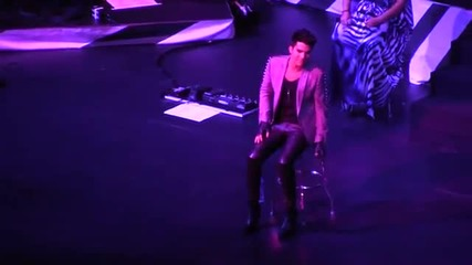 Adam Lambert - Time For Miracles Live in Singapore 2013