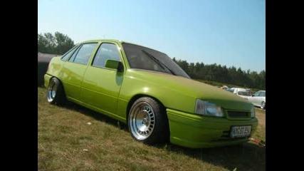 Opel Kadett tuning pictures