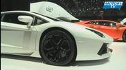 Lamborghini Aventador Salon Auto Geneve 2011