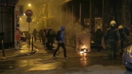Greece: MP hit by firebomb following attack on PASOK HQ in Athens
