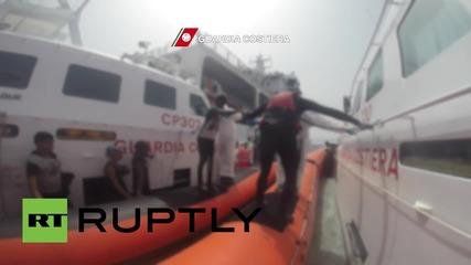 Italy: Coast Guard picks up 107 refugees off the coast of Lampedusa