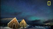 Северното сияние в Норвегия !