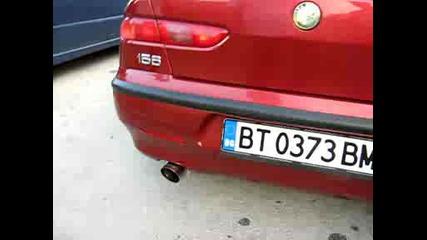 Алфа 156 с карбоново гърне