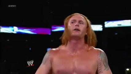 Heath Slater vs Alex Riley Wwe Superstars