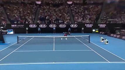 Roger Federer vs Steve Johnson - Highlights Australiian Open 2020 720p