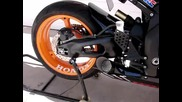 Honda Repsol Gp style custom exhaust