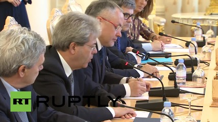 """Russia: No need for """"excessive pessimism"""" in Russo-Italian relations - Lavrov"""