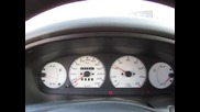 Fiat Bravo 20v (еxhaust system sound)