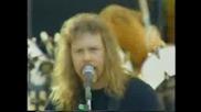 Metallica - Freddy Mercury Tribute Concert - Wembley Stadium, London